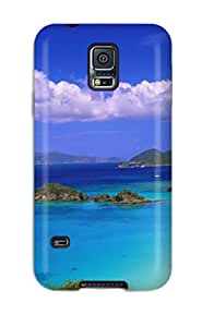 ashley dingman's Shop Christmas Gifts First-class Case Cover For Galaxy S5 Dual Protection Cover Trunk Bay Us Virgin Islands BEBLP049MIWTOHU6