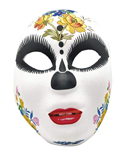 Ahugehome Halloween 2018 Full face mask Men Women Mexican Day of The Dead Skull Costume (A35)