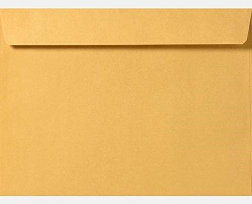 6.5 X 9.5 Booklet Envelope 28LBS Brown Kraft Bulk of 500 ()