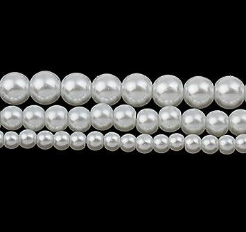 40 Glaswachsperlen in braun 8 mm