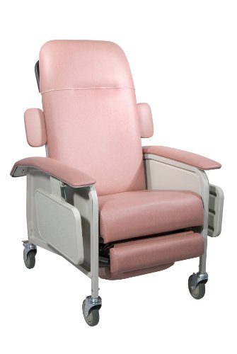 Back Position Recliner 3 - Clinical Care Geri Chair Recliner, Rosewood