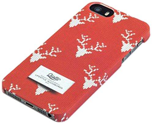QIOTTI Pull Snap Case für Apple iPhone 5/5S Rot