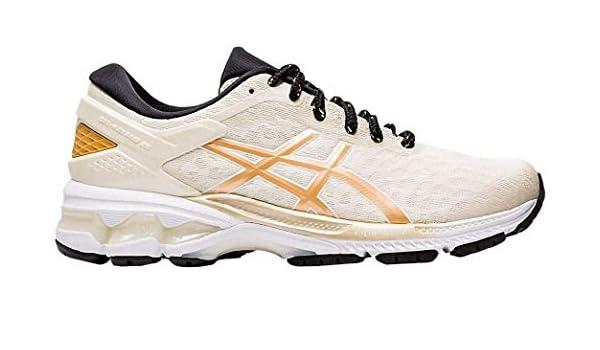 ASICS Gel-Kayano 26 Zapatillas de correr para mujer, Marrón (Abedul/Champán), 36 EU: Amazon.es: Zapatos y complementos