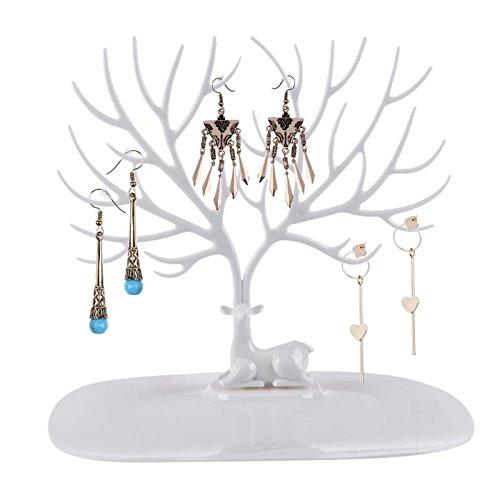 xiaolanwelc @ soporte extraíble para joyas pulsera collar anillo arete showing estanterías joyas organizador joyas estante,...