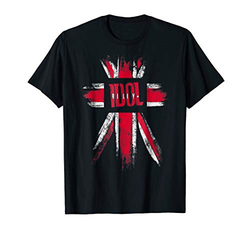 Billy Idol - Flag T-Shirt -