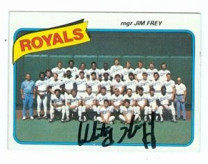 - Autograph Warehouse 78483 Whitey Herzog Autographed Baseball Card Kansas City Royals 1980 Topps No .66 67