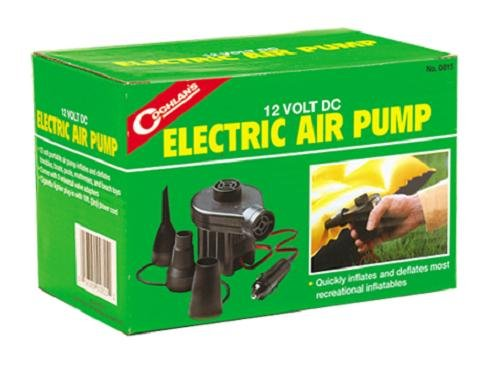 Coghlan's 12V DC Electric Air Pump, Outdoor Stuffs