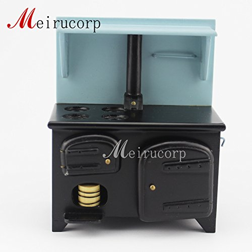 Dollhouse 1/12 Scale Miniature Kitchen facilities Oven Stove by Meirucorp (Stove Kitchen Dollhouse)