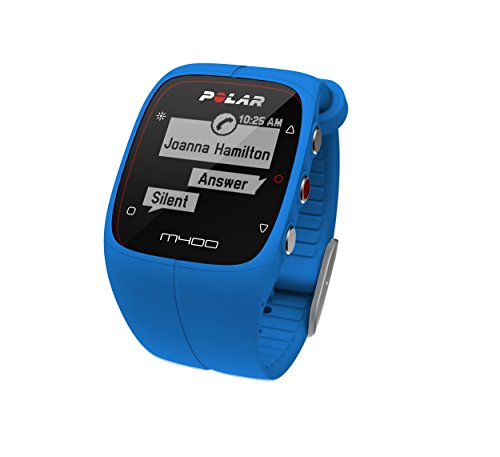Polar M400 GPS Smart Sports Watch with Heart Rate Monitor (Blue) by Polar (Image #3)