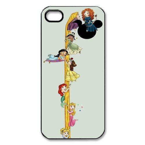 Disney Princess Club (Alicefancy Disney Princess Plastic Case For Iphone 5 5s iphone5-New007)