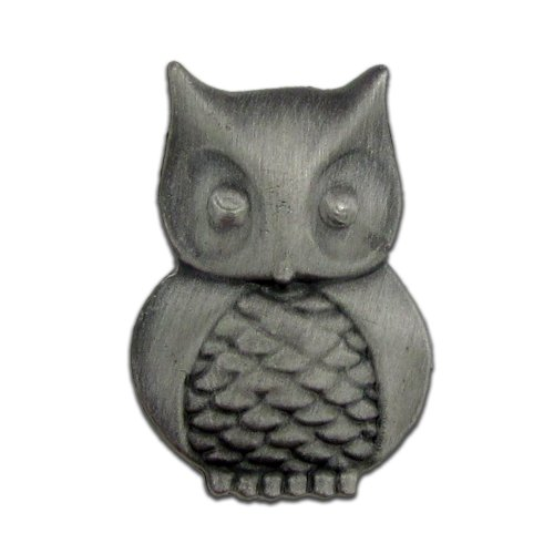 PinMart Owl Lapel Pin Bird Animal Collectible Lapel Pin -