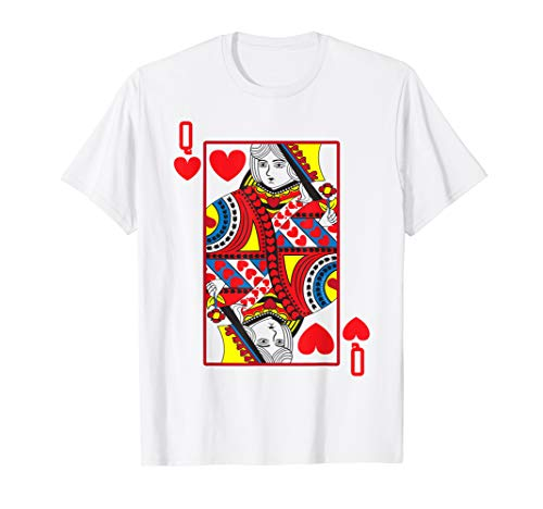 Halloween Playing Card Costume QUEEN OF HEARTS -