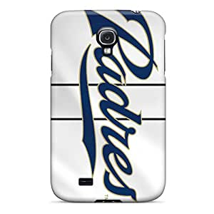 Scratch Resistant Cell-phone Hard Covers For Samsung Galaxy S4 (rde10109OgZa) Allow Personal Design Trendy San Diego Padres Skin