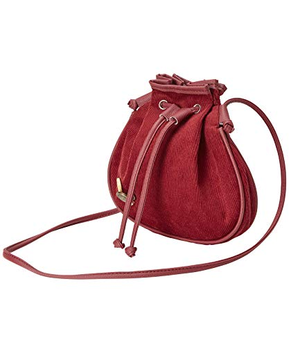Red Button Pouch Detail with Cord Bag Browns Joe Womens Red P8qRRS