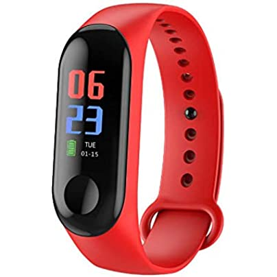 pomelogreem Activity Tracker waterproof Smart bracelet sports step heart rate waterproof watch Sedentary Reminder for Men Women and Kids Estimated Price £18.82 -