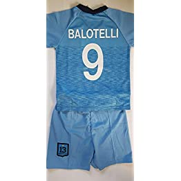 4F sport performance Maillot ET Short Foot Marseille Balotelli 4/6/8/10/12/14 Ans (10 Ans)