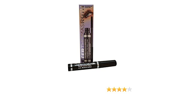 dafc4120bac Amazon.com : Peter Thomas Roth Eye Care 0.27 Oz Lashes To Die For The  Mascara - Jet Black For Women : Beauty