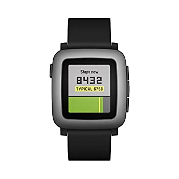 Pebble Time Smartwatch - Black 10