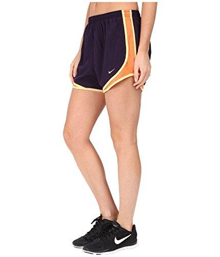 Nike Womens Tempo Short Purple Dynasty / Turf Orange / Lupo Grigio