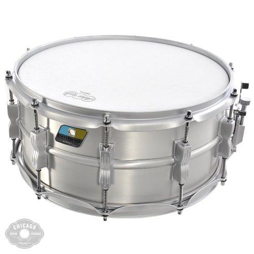 Ludwig Acrolite Classic Aluminum Snare Drum Matte Finish 6.5x14 - Ludwig Classic Drum