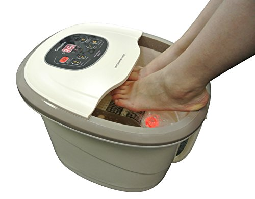 Carepeutic Motorized Hydro Therapy for Foot and Leg Spa Bath Massager, 17 Pound (Foot Schlemmer Massager Hammacher)
