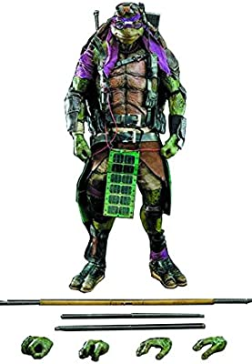 ThreeZero Teenage Mutant Ninja Turtles Donatello de la ...
