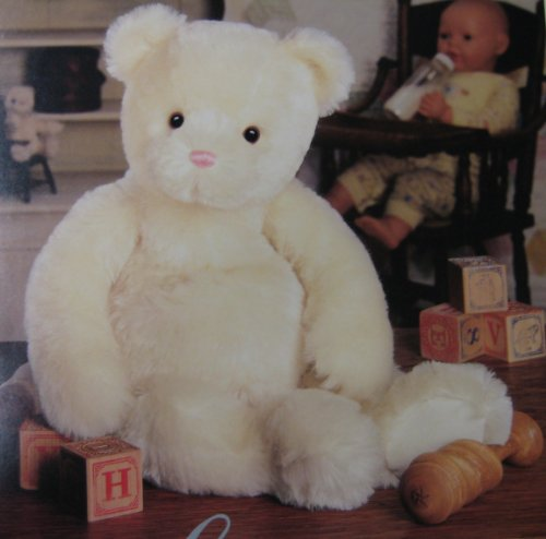 (Gund Mohair Collectible Bear SugarLoaf 9526 Ivory Mohair 21 Inch)