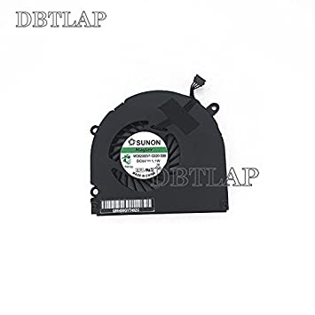 "DBTLAP Ventilador de la CPU del Ordenador portátil para Apple MacBook Pro 15"" MC026 MB985"