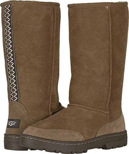 UGG Women's W Ultra Tall Revival Fashion Boot Chestnut 7 M US -