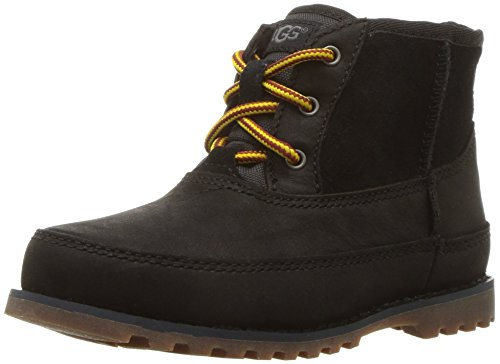 UGG Boys' T Bradley Hiking Boot, Black, 8 M US Toddler -