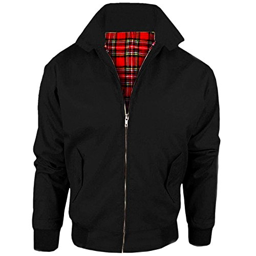Black harrington Maniche Seeitwearit Giacca Lunghe Uomo 4Z7nHxIwqX