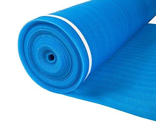 Laminate Blue Foam Flooring Underlayment 3mm Thick 200 sq.ft ()