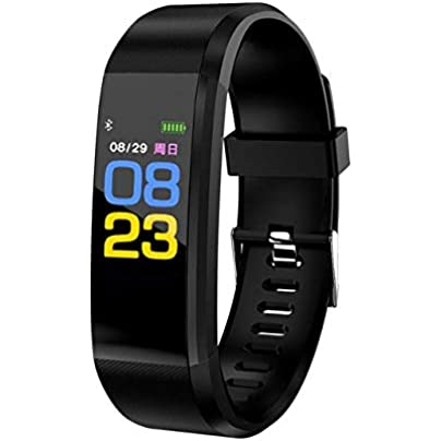 QQFTCM Pedometer Smart Bracelet Sport Smart Watch Blood Pressure Exercise Dynamic Heart Rate Monitoring Smart Wristband for Android iOS Estimated Price £46.00 -