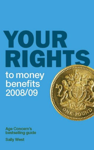 Download Your Rights to Money Benefits 2008/09 2008/2009 pdf