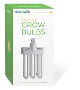 AeroGarden Grow Bulbs for All 1 and 2 Bulb Gardens (2-Pack)