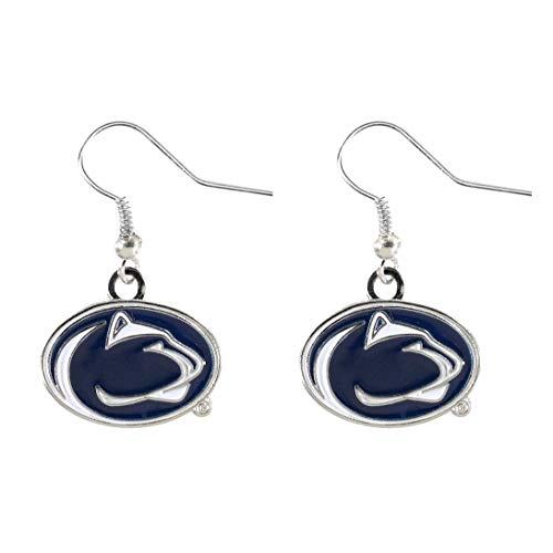 NCAA Penn State Nittany Lions Logo Dangler Earrings