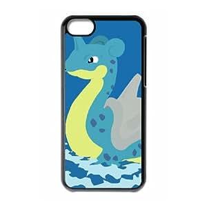 lapras pokemon iPhone 5c Cell Phone Case Black xlb2-235176