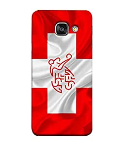 ColorKing Football Switzerland 08 Red shell case cover for Samsung A5 2016