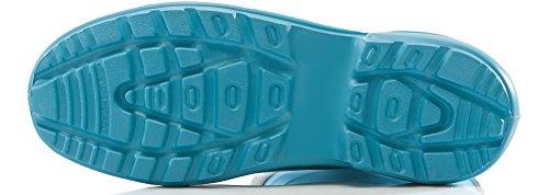 LA Botas Ligeras Antideslizantes de Claro Ladeheid Azul Muy Gris Zapatos 800 Mujer Seguridad 2017 Agua de vIFIwxp