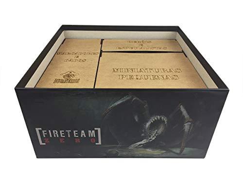 Organizador (Insert) para Fireteam Zero - Bucaneiros Jogos