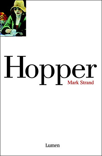 Descargar Libro Hopper Mark Strand