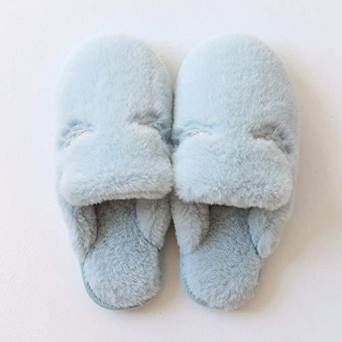 Femminile Di Invernali Blu Antiscivolo Inverno Fondo Xiaogege Indoor In  Carino Caldo pantofole Spesso Fg5nv 3aab96cdb43