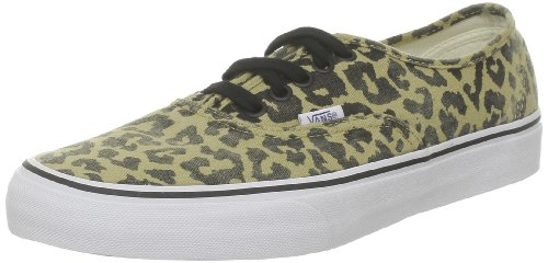 Shoes Heel Leopard Inspired Womens (Vans Authentic Mens Size 11.5 Tan Textile Sneakers Shoes UK 10.5 EU 45)