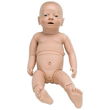 Maniquí para el cuidado del paciente recién nacido: Amazon.es: Salud ...