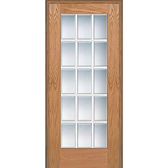 National Door Company Z020003l Unfinished Red Oak Wood 15