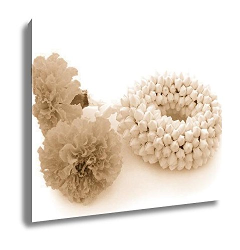 Ashley Canvas Malai The Flower In Thai Tradition Style, Kitchen Bedroom Living Room Art, Sepia 24x30, AG5876875 by Ashley Canvas