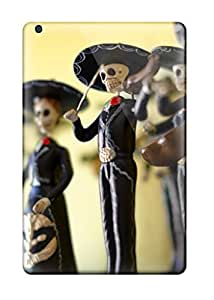 AMGake Design High Quality Day Of The Dead Statuettes Cover Case With Excellent Style For Ipad Mini/mini 2