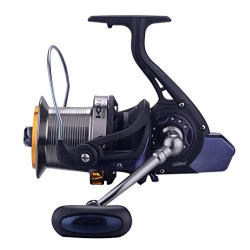 Diwa Spinning Fishing Reels 9000/10000/14000 Series Saltwater Big-Game Surf Fishing Carbon Fiber 12+1 Stainless BB 70 LBS Max Drag Ultra Smooth Powerful Trout Durable Spinner Gear (14000) (10000 Series)