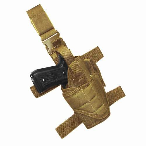 Condor Tornado Tactical Leg Holster (Tan, Fully adjustable)