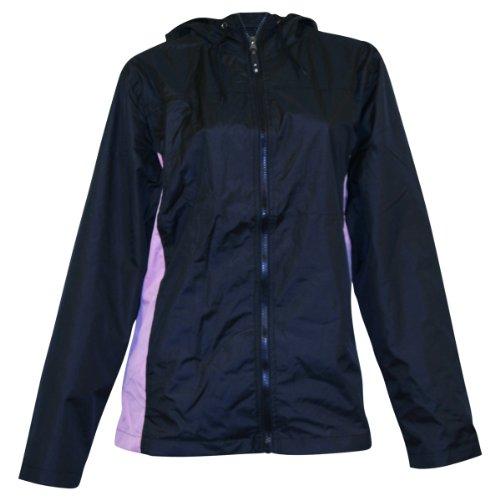 Apparel No. 5 Women's Lightweight Hooded Windbreaker Jacket
